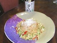 クラゲと白菜のサラダ<中華風>